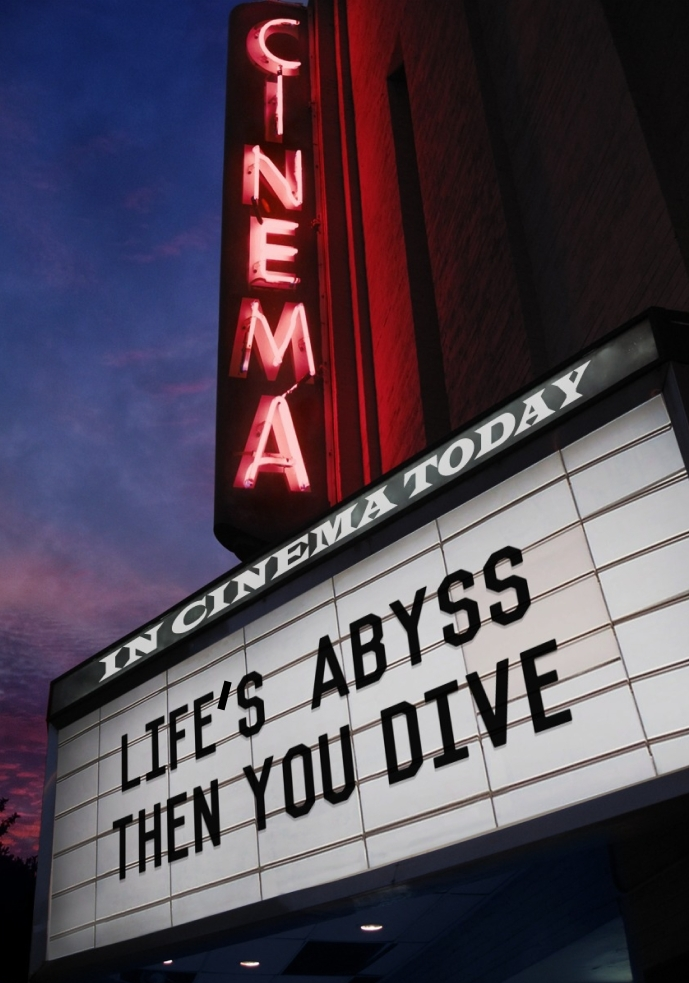 Lifes Abyss MARQUEE SIGN - NEWW